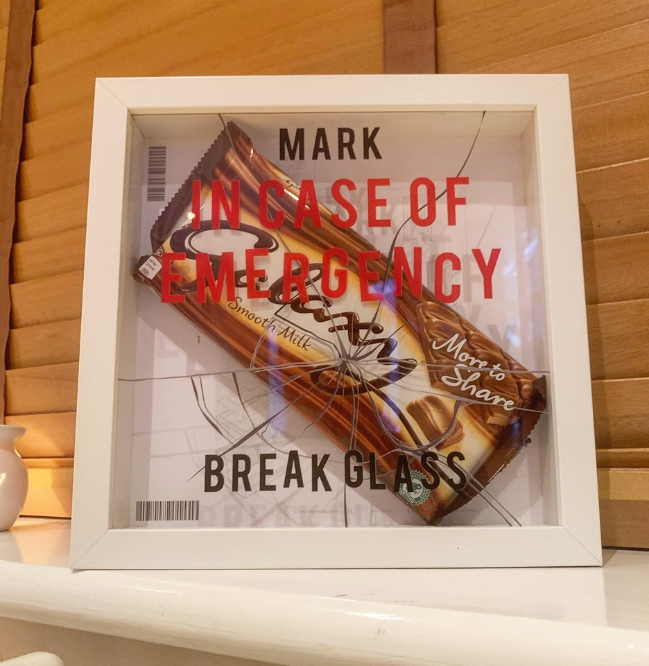 NEW Personalised In Case Of Emergency Frame