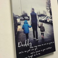 Image of personalised photo canvas