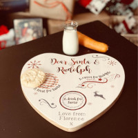Personalised Wooden Santa Treat Board