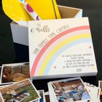 Personalised Rainbow Time Capsule Box - WHITE 0