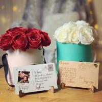 Everlasting Love Rose Boxes