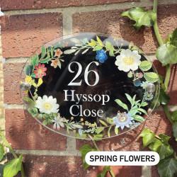 Personalised Interchangable House Plaque