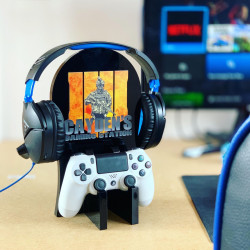 Personalised Gaming Station - Soldier Design