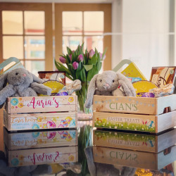 Personalised Easter Egg Crate