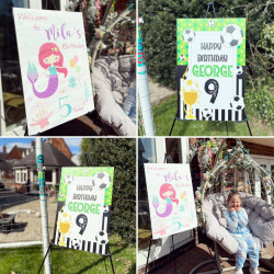 Personalised Birthday Board