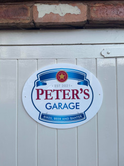 Personalised Beer Sign - P