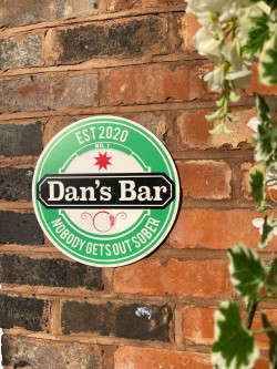 Personalised Beer Sign - H