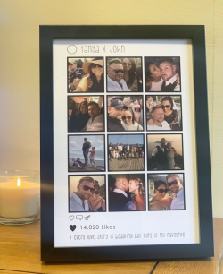 NEW Personalised Memory Frames