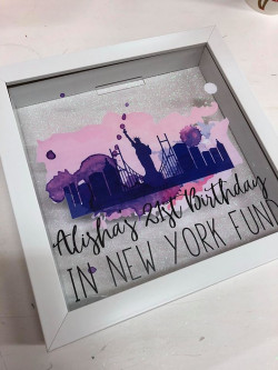 Image of Personalised Statue of Liberty Fund Box