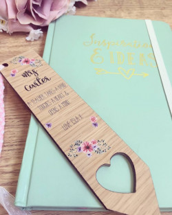 Image Of Personalised Bookmark for teacher