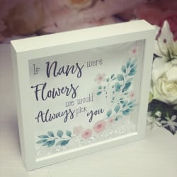 Image of nans were flowers frame