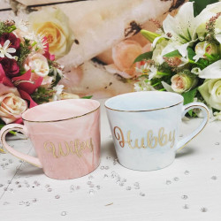 Image of husband & wife mug set