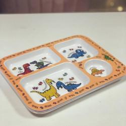 Image of dinosoar theme dinner tray