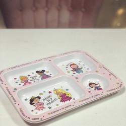 Image of princess theme dinner tray