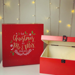 Image of personalised Christmas Eve Box for adults