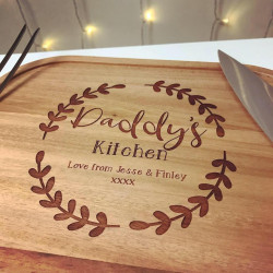 Image of personalised christmas dinner meat carving set