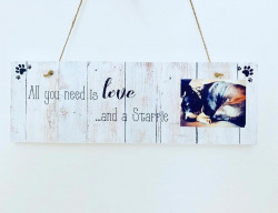 Image Of Personalised Dog Photo Wall Plaque