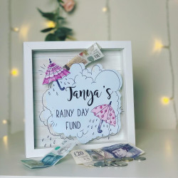 Personalised Rainy Day Fund Box