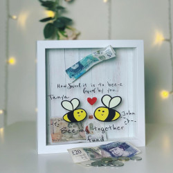 Personalised Bee-ing Together Fund Box