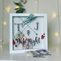 Personalised Initials and Arrows Fund Box