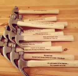 Personalised 16oz Claw Hammer (original)