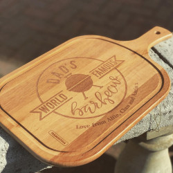 Personalised Dad's BBQ Carving Board & Knives Set