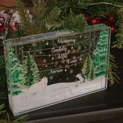 Personalised Wonderland Snow Block
