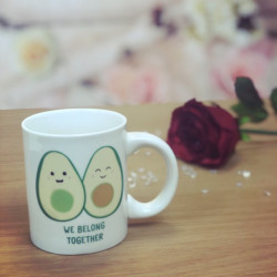 Image of We Belong Together Avocado Mug