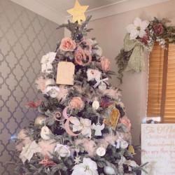 Blush Christmas Tree Decoration Bundle