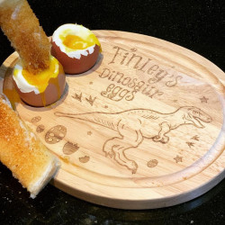 Personalised Dinosaur Egg Board