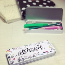 Personalised Doodle Pencil Case (Buy 1 Get 1 FREE)