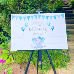 Personalised Events Board (BUY 1 get 1 FREE) BLUE ELEPHANT