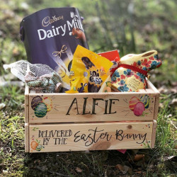Personalised Easter Egg Crate-Delivered by the Easter Bunny