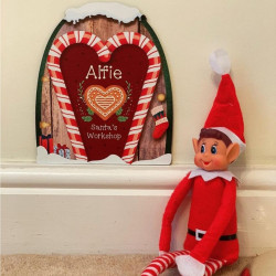Image of personalised magical elf door