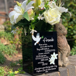 Personalised Memorial Flower Box