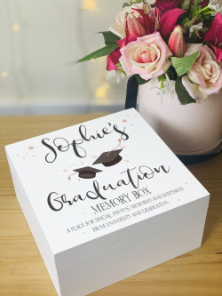 Personalised Graduation Memory Box