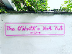 Personalised Pink Neon Sign