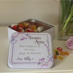 NEW Personalised Lavender Treat Tin 0