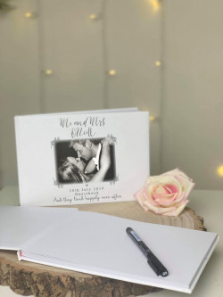 Personalised Photo Wedding Guestbook
