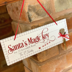 Personalised Magic Key Plaque