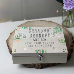 Image of personalised seed box