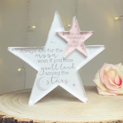 Personalised Moon Acrylic Star Jigsaw Pieces