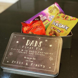 Personalised Stars Treat Tin