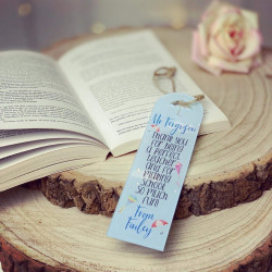 Personalised Teacher Umbrella Bookmark