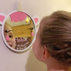 Personalised Unicorn Mirror