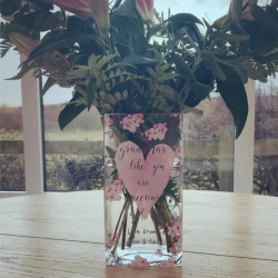 Image of personalised mothers day vase