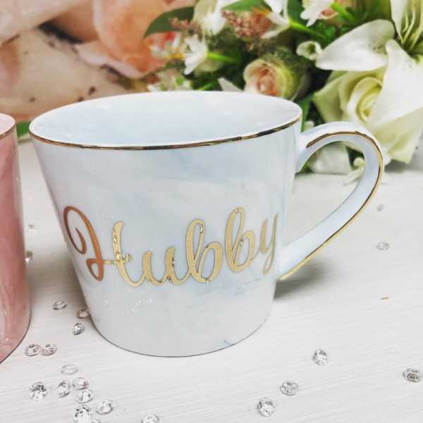 Image of husband & wife mug set