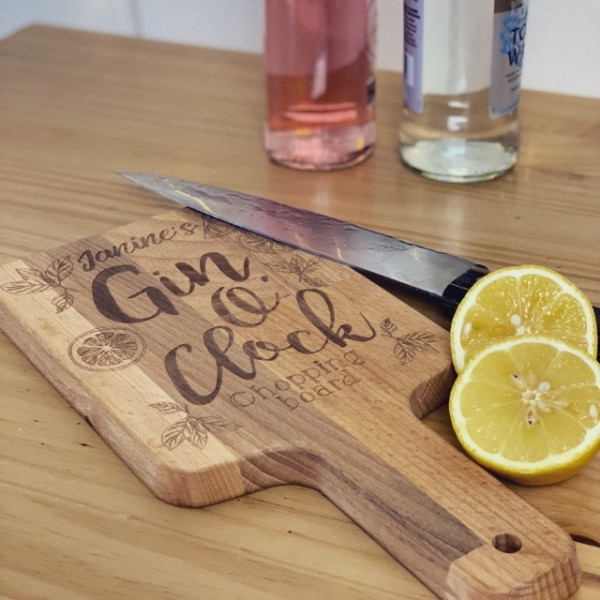 personalised gin board