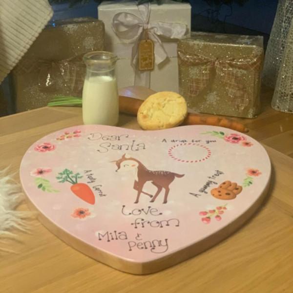 Personalised Santa Treat Wooden Board