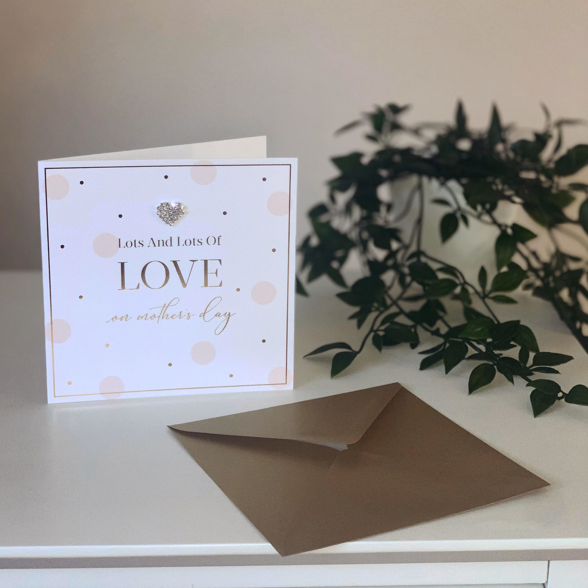 Lots And Lots Of Love Mother's Day Card